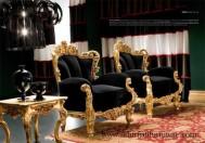 Kursi Set Sofa Tamu Mewah Jati Ukir