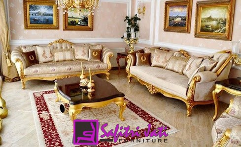 Kursi Sofa Tamu Mewah Arabia Modern Safitri Jati Furniture