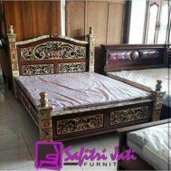 Tempat Tidur Rahwana Jati Jepara