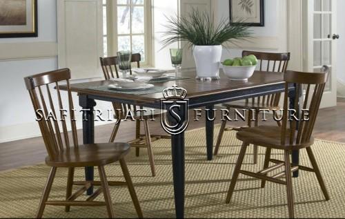 meja makan tifani