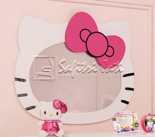 cermin-hello kitty