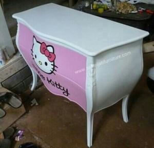 Meja Nakas Hello Kitty