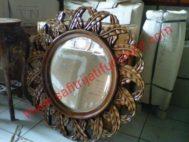 Cermin Kayu Jati Jepara Ukir