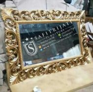 Cermin Kayu Jati