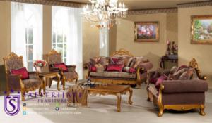 Kursi Tamu Sofa Mewah Klasik