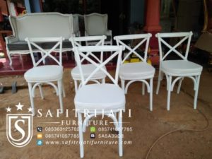 Kursi Cafe Crossback Murah