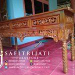 Meja Konsul Altar Ukiran
