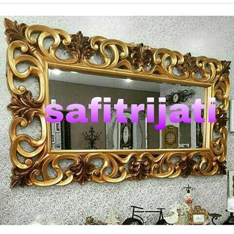 Cermin Persegi Jepara