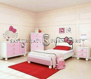 Kamar Set Anak Hello Kitty