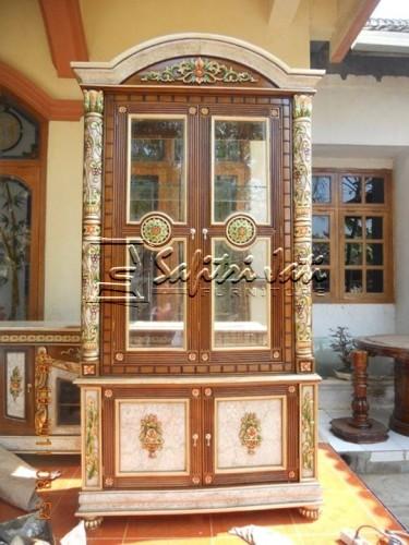 lemari-pajangan-minimalis-model marmer