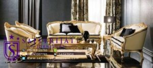 Kursi Sofa Tamu Mewah Eropa Klasik