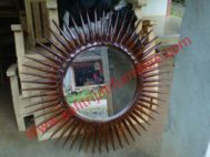 Cermin Ukir Matahari