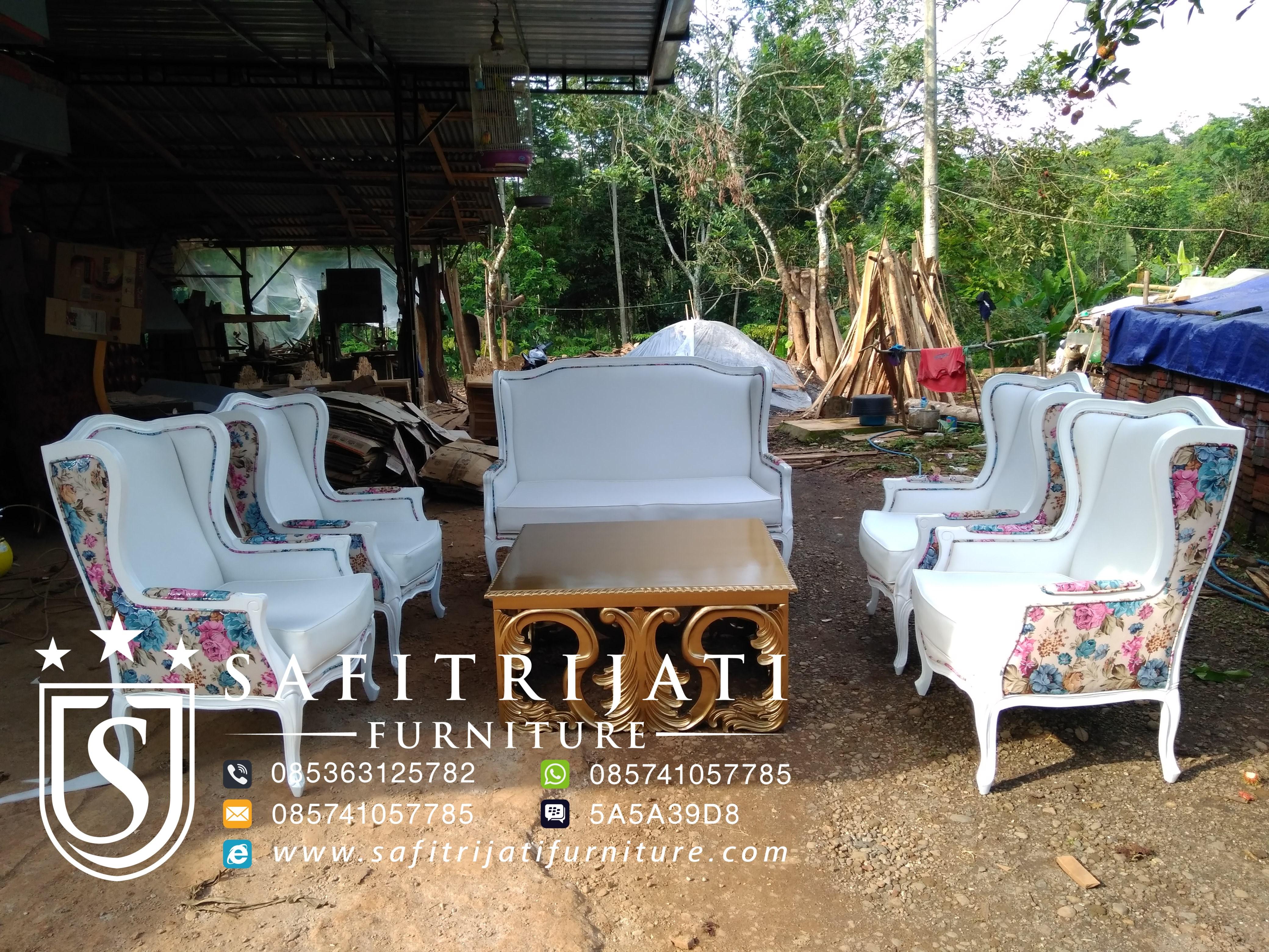 Kursi Ruang Tamu Shabby Minimalis Safitri Jati Furniture