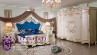 Kamar Set Mewah Klasik Putih