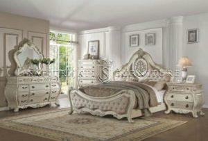 Kamar Ukiran Mewah Set Pengantin Princes
