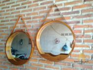 Cermin Bulat Gantung